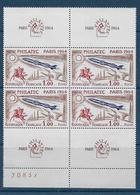 Philatec N° 1422 Bloc De 4 ** - Cote : 120 € - France