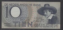 Netherlands 10 Gulden 4-1-1943 -22-4-1944 , No 9 BD 031797 - 01-11-1943, - See The 2 Scans For Condition.(Originalscan ) - [2] 1815-… : Koninkrijk Der Verenigde Nederlanden