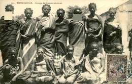 MADAGASCAR - Carte Postale - Groupe De Femmes Sakalaves - L 29218 - Madagascar