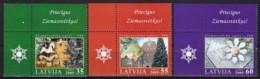 Lettland, 2009, 775/77, Weihnachten.  MNH ** - Lettonia