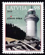 Lettland, 2010, 794,, Leuchtturm Užava (Hasau).  MNH ** - Lettonie