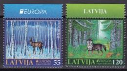 Lettland, 2011, 804/05,  Europa: Der Wald.   MNH ** - Latvia