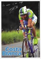 CARTE CYCLISME FERNANDO ESCARTIN SIGNEE TEAM KELME 1998 - Ciclismo