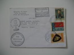 Enveloppe Equateur - Ecuador  1978 Post-Office Galapagos Pour La France - Equateur