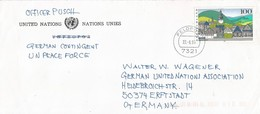 UNPROFOR 1995 Feldpost 7321 Zadar German Peacekeeping Military Cover - Militaria