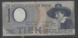 Netherlands 10 Gulden 4-1-1943 -22-4-1944 , No 1 BC 101141 Replacement  - See The 2 Scans For Condition.(Originalscan ) - [2] 1815-… : Koninkrijk Der Verenigde Nederlanden