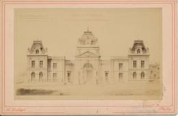 Photographie Ancienne XIXe SAINT MAIXENT Projet De Transformatio Porte Chalon (79) Photographe Lombard - Photos