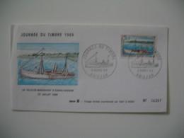 Enveloppe Journée Du Timbre 1969 Abidjan - La Ville De Maranhao' A Grand-Bassam Série B - N° 04367 - Costa D'Avorio (1960-...)