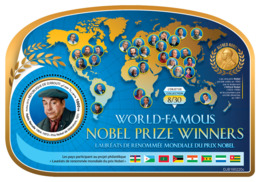 DJIBOUTI 2019 MNH Pablo Neruda Nobel Prize Winners Nobelpreisträger M/S - OFFICIAL ISSUE - DH1919 - Nobel Prize Laureates