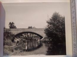 Photo Originale , Pont Martelange 1951 - Martelange