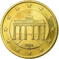 République Fédérale Allemande, 50 Euro Cent, 2004, TTB, Laiton, KM:212 - Allemagne