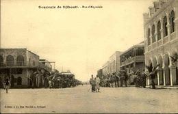 DJIBOUTI - Carte Postale - Rue D'Abyssinie - L 29239 - Gibuti