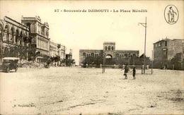 DJIBOUTI - Carte Postale - La Place Ménélik - L 29240 - Djibouti