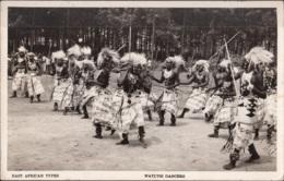 East African Types - Watussi Dancers - Danze