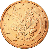 République Fédérale Allemande, 2 Euro Cent, 2002, SUP, Copper Plated Steel - Germania