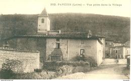 CPA (42) PAVEZIN - LE CAFE DAHNON EN 1920 - Bb-409 - France