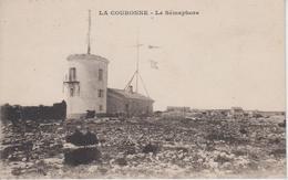 CPA La Couronne - Le Sémaphore (avec Cachet Hexagonal De La Couronne Au Verso) - France