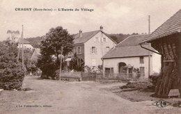 (Hte Saone)  CPA  Chagey  Entrée Du Village   (Bon Etat) - Autres Communes