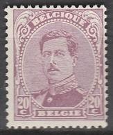 Belgie    .    OBP   .     140     .     *    .   Ongebruikt Met  Charnier    .  / .  Neuf Avec  Charniere - 1915-1920 Albert I