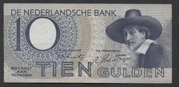 Netherlands 10 Gulden 4-1-1943 -22-4-1944 , No 9 BK 100578 Replacement - See The 2 Scans For Condition.(Originalscan ) - [2] 1815-… : Koninkrijk Der Verenigde Nederlanden