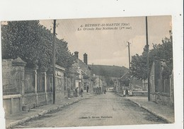 60 BETHISY SAINT MARTIN LA GRANDE RUE NATIONALE - Francia