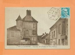 CPA - Ver Sur Launette  - Carrefour De La Ferme Du Vieux Château - Autres Communes