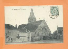 CPA - Ver  -(Oise) - L'église - France