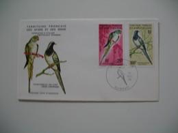 Enveloppe FDC  1976  Afars Et Issas   N° 428 Et 429 Oiseaux - Parrots