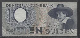Netherlands 10 Gulden 4-1-1943 -22-4-1944 , No 7 BM 049193-10-11-1943 - See The 2 Scans For Condition.(Originalscan ) - [2] 1815-… : Koninkrijk Der Verenigde Nederlanden