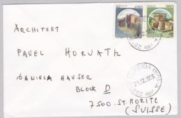 Brief In Die Schweiz (br5941) - 6. 1946-.. Republik