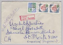 Brief In Die Schweiz (br5942) - 6. 1946-.. Republik