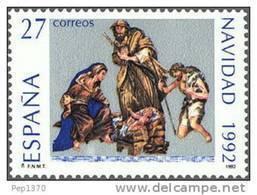 ESPAÑA 1992 - NAVIDAD - NOEL - CHRISTMAS  - Edifil Nº 3227 - Yvert 2823 - Navidad