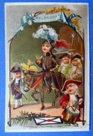 CHROMO LITHO DOREE /SANS PUB......  MALBROUGH - Vieux Papiers