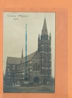 CARTE PHOTO - COMINES - 1912 - L'Eglise - L GALLOO - Comines-Warneton - Komen-Waasten