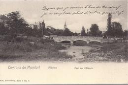 Altwies Pont Sur L'albach  Environs Mondorf   Attelage Nels Serie 4 No 2  Etat Impec - Mondorf-les-Bains