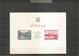 Allemagne - Occupation En Serbie ( BF 2 X -MH) - Besetzungen 1938-45
