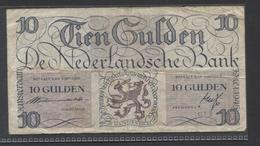 Netherlands  10 Gulden 7-5 1945 : Lieftincktientje - NR 2 AD 068885 - See The 2 Scans For Condition.(Originalscan ) - [2] 1815-… : Reino De Países Bajos