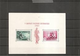 Allemagne - Occupation En Serbie ( BF 4 X -MH) - Besetzungen 1938-45