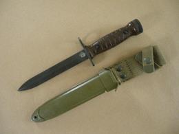 Baïonnette Italienne Pour Carabine USM1 - Armes Blanches