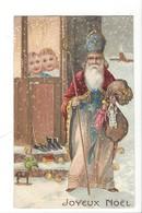22047 - Joyeux Noël St.Nicolas Enfants  Carte En Relief 1908 - Santa Claus