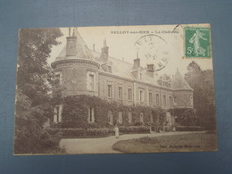Cpa BELLOY-sur-MER Le Château. 1921 - Francia