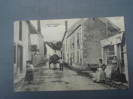 Cpa VANDIERES Rue Basse. - France