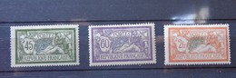 N° 143 à 145,  Lot 1210 - 1900-27 Merson