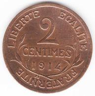 2 Centimes Daniel Dupuis 1914 - B. 2 Centesimi
