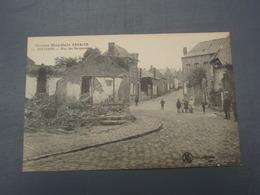 Cpa Guerre Mondiale 1914-18 SOLESMES Rue Des Becqueriaux - Solesmes