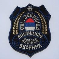 1991-1995 Bosnian War - Serbian Special Police Unit Zvornik - Sleeve Patch - Stoffabzeichen