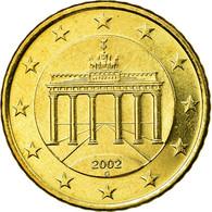 République Fédérale Allemande, 50 Euro Cent, 2002, SUP, Laiton, KM:212 - Germania