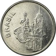 Monnaie, Brésil, 20 Cruzeiros, 1985-1991, TTB, Stainless Steel, KM:593.2 - Brésil