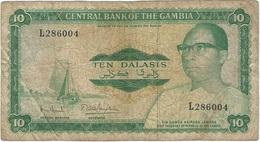 Gambia 10 Dalasi 1972 Pk 6 C Firma 7 Ref 5 - Gambia
