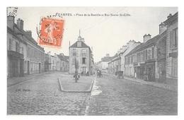 (24048-91) Etampes - Place De La Bastille Et Rue Neuve St Gille - Etampes